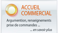 Accueil commercial